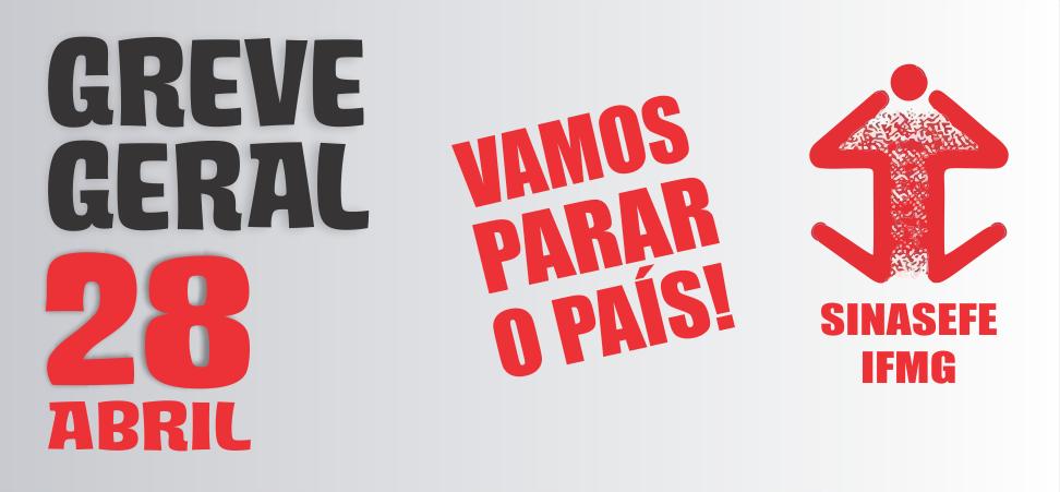 Assembleia decide pela adesão à greve geral do dia 28/04 com paralisação somente neste dia